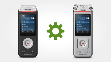 Software works with all current Philips VoiceTracer audio recorders