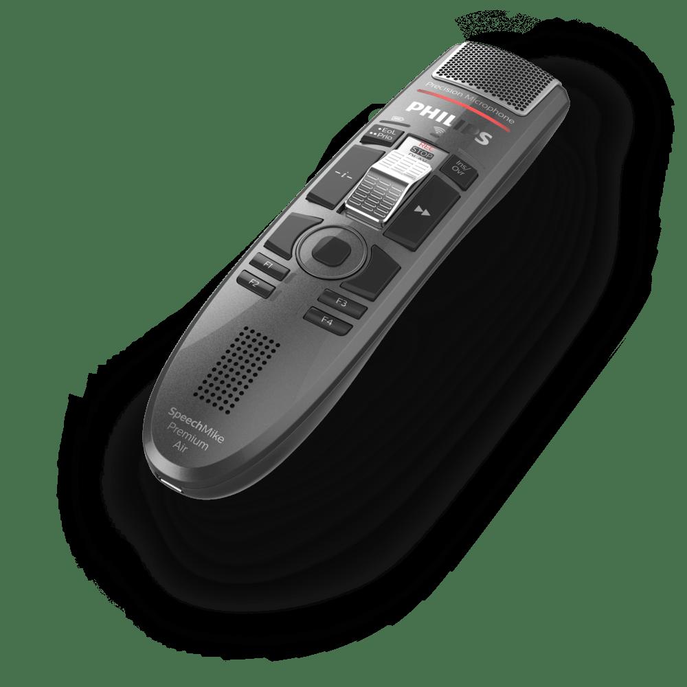 Philips SMP4000//00 SpeechMike Premium Air kabelloses Diktiermikrofon