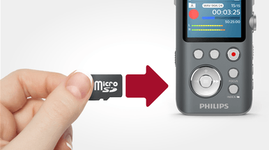 VoiceTracer audio recorder DVT7500 | Philips