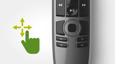Integrated mouse functions for added convenience