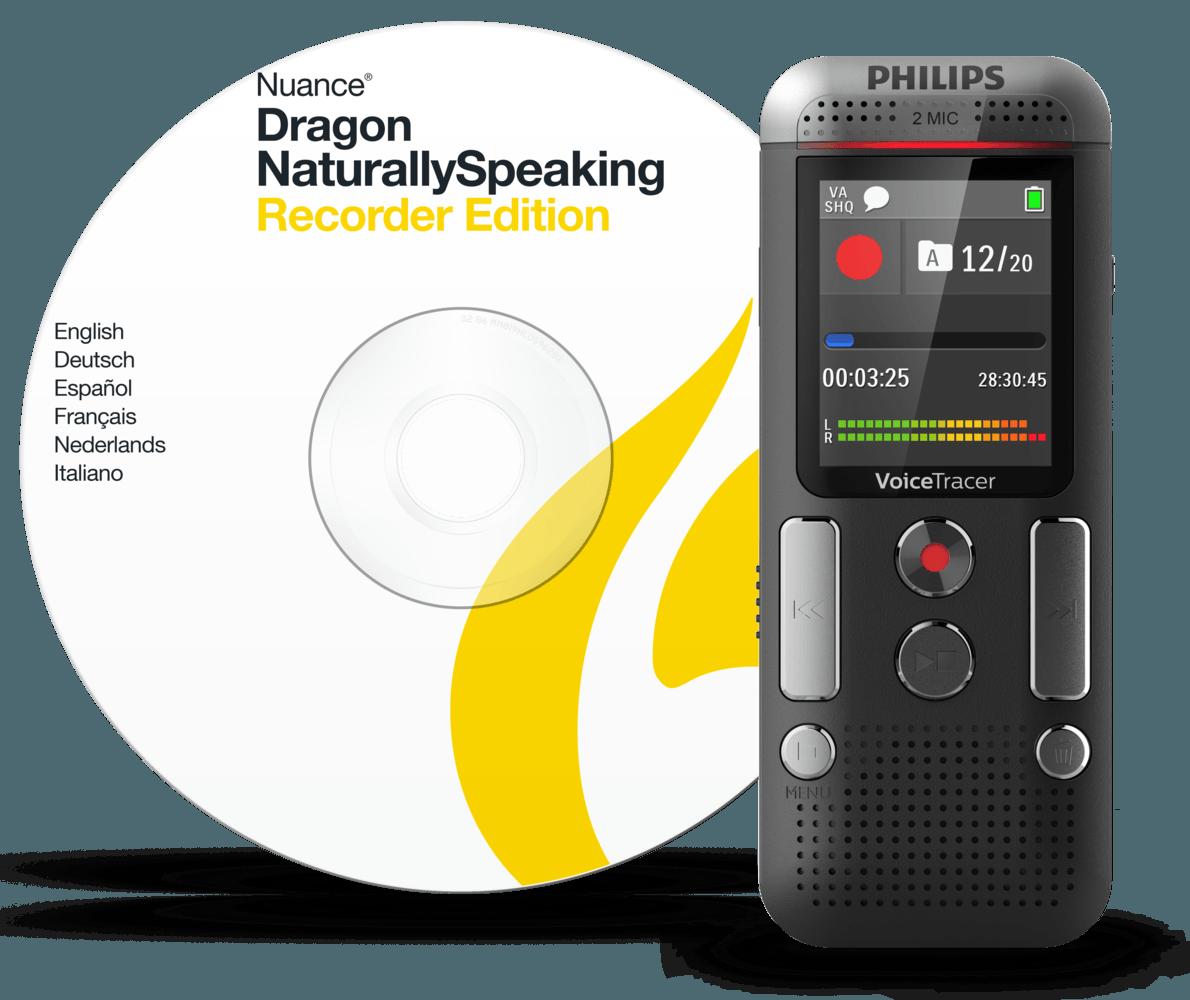 VoiceTracer audio recorder DVT2710 | Philips
