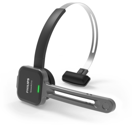 SpeechOne Auriculares inalámbricos de dictado