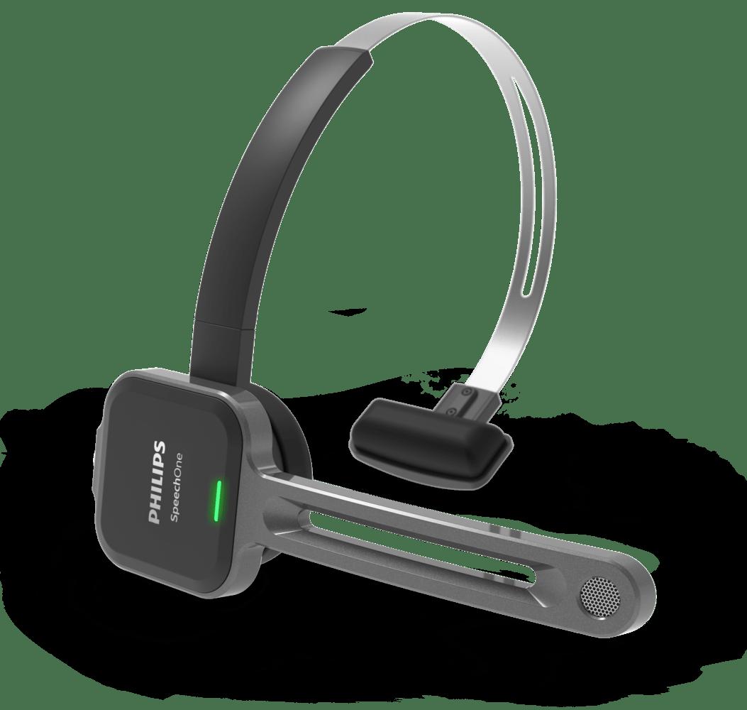 Micro Casque De Dictée Sans Fil Speechone Psm6000 Philips