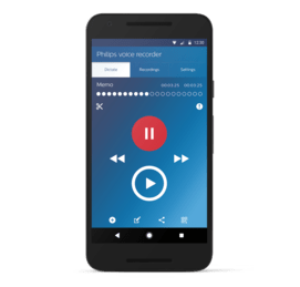 Voice recorder app