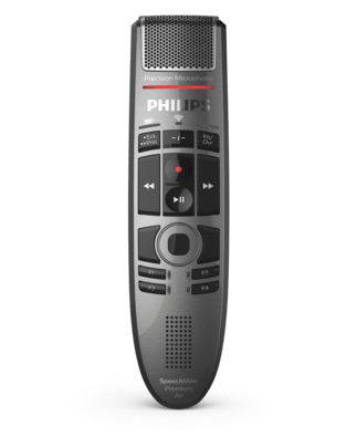 SpeechMike Premium Air Wireless dictation microphone