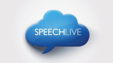 SpeechLive connection available for even greater mobility