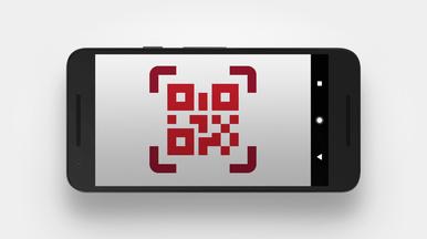 Barcode-Scanner zur einfachen Kategorisierung von Aufnahmen