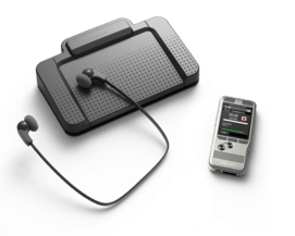 PocketMemo dictation and transcription set