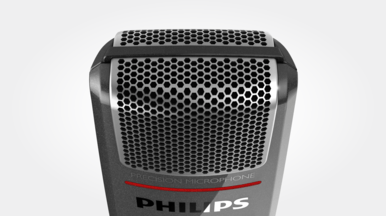 Microphone grille with optimized structure for crystal clear sound