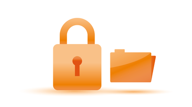 Security features and backup for protecting sensitive data