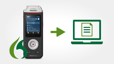 Speech recognition software eliminates the need to type up documents