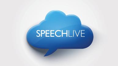 Optionale SpeechLive-Verbindung für noch mehr Mobilität