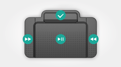 Fast and efficient playback control for quicker and more accurate transcriptions