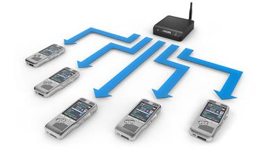 Automatische Firmware-Updates für Diktiergeräte für eine effiziente Geräteverwaltung