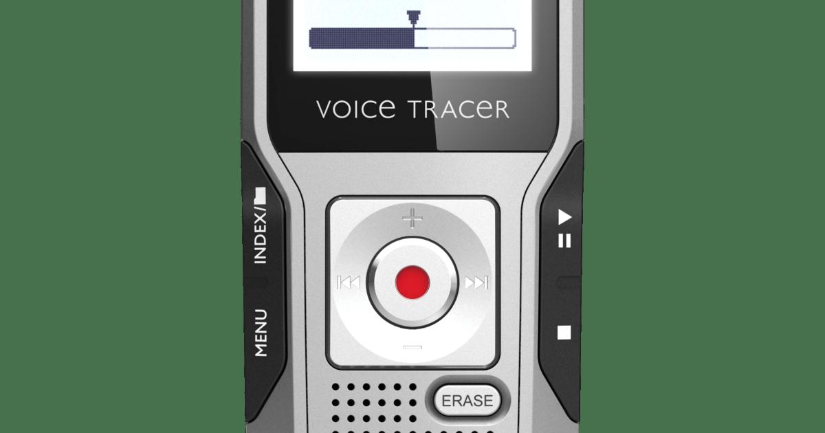 VoiceTracer audio recorder DVT3400 | Philips