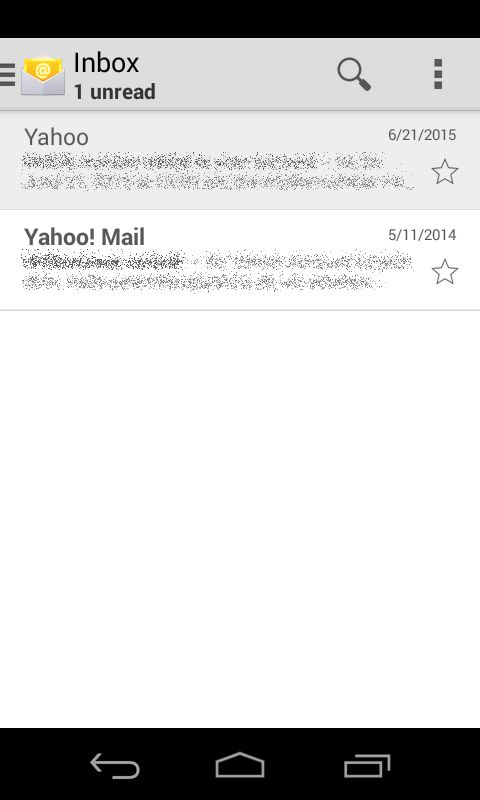 E-mails in your mailbox